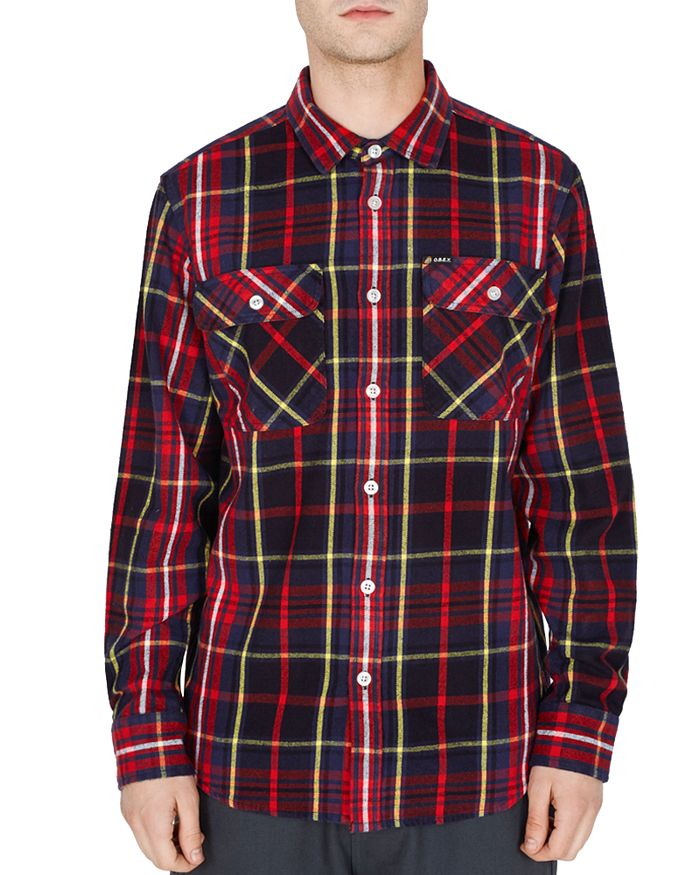 OBEY - Nelson Plaid Regular Fit Shirt