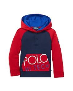 Ralph Lauren - Boys' Polo Hi Tech Hybrid Hoodie - Little Kid