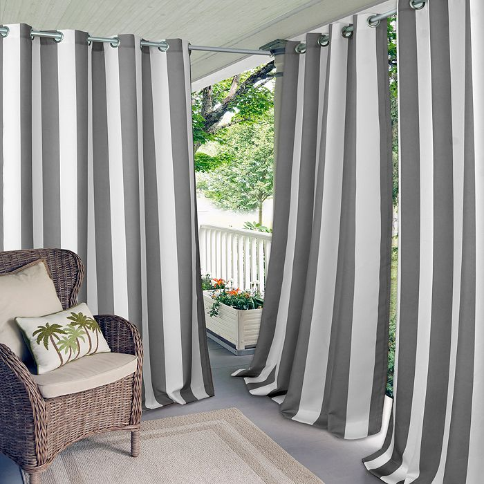 Elrene Home Fashions - Aiden Stripe Indoor/Outdoor Collection
