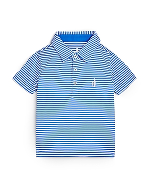 Johnnie-o Boys' Bunker Striped Performance Polo Shirt - Little Kid, Big Kid