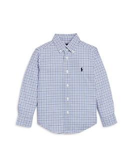 Ralph Lauren - Boys' Windowpane Check Button-Down Shirt - Little Kid
