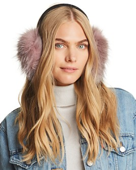 Surell - Fox Fur Ear Muffs - 100% Exclusive