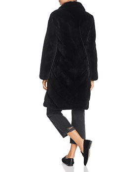 Maximilian Furs - x Z.RHODES Plucked Mink Fur Coat