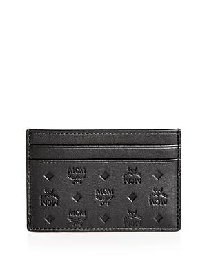 Mcm Sigmund Leather Card Case