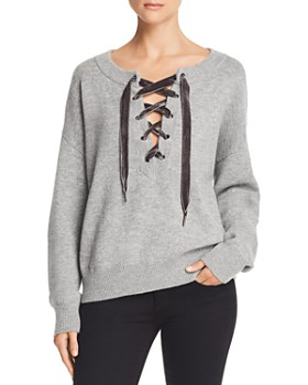 Rails - Olivia Lace-Up Sweater