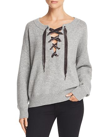 Rails - Olivia Lace-Up Sweater