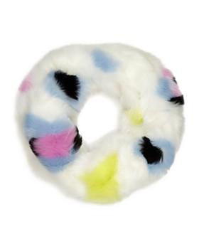 Heurueh - Love Twist Faux Fur Infinity Scarf