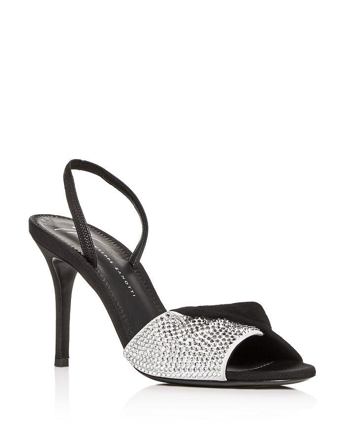 9994ffb5486 Giuseppe Zanotti - Women s Swarovski Crystal Slingback High-Heel Sandals