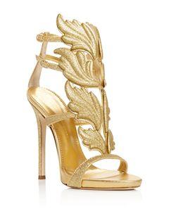 272a019b6a2 Giuseppe Zanotti Coline Cruel Embellished Wing High-Heel Sandals ...