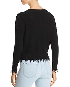 Marled - Distressed Crop Sweater