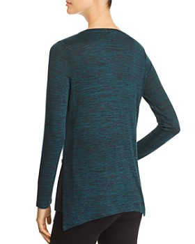 NIC and ZOE - Every Occasion Button-Trimmed Tunic Sweater