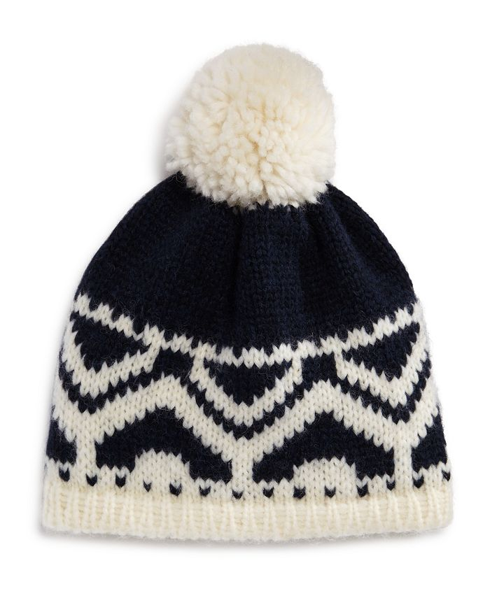 The Men's Store at Bloomingdale's - Fair Isle Pom-Pom Hat - 100% Exclusive