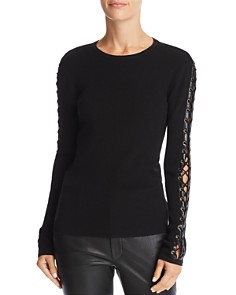 Ramy Brook - Helene Lace-Up Detail Top