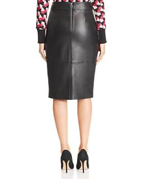 BOSS - Selrita Lamb Leather Pencil Skirt