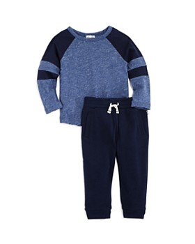 Splendid - Boys' Marled Tee & Terry Jogger Pants Set - Baby