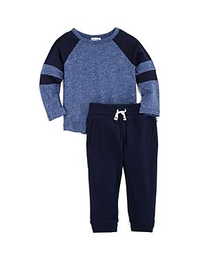 Splendid Boys Marled Tee  Terry Jogger Pants Set  Baby