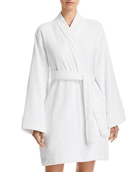 Hudson Park Collection - Short Velour Bath Robe - 100% Exclusive 00f58bf13