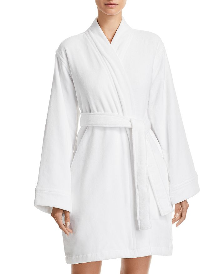 Hudson Park Collection - Short Velour Bath Robe - 100% Exclusive