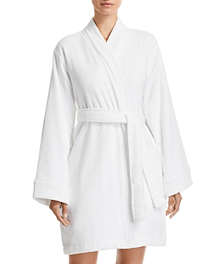 Hudson Park Collection Short Velour Bath Robe - 100% Exclusive