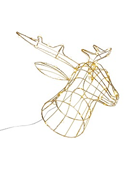 Bloomingdale's - LED Wire Light Reindeer - 100% Exclusive