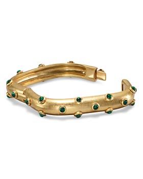 Tory Burch - Studded Stone Square Bracelet