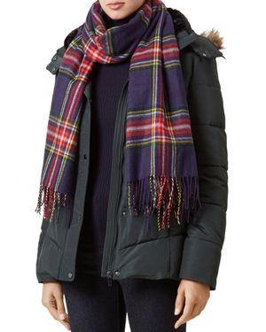 Hobbs London Livia Faux Fur-Trim Puffer Coat