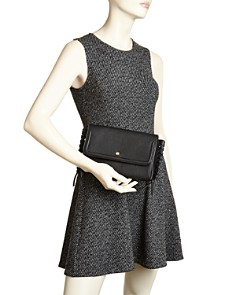 Annabel Ingall - Emma Oversize Whipstitch Leather Clutch