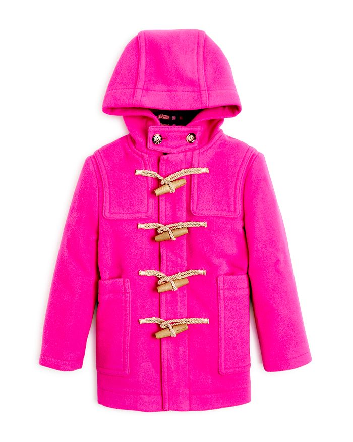 Burberry - Girls' Burford Wool Duffle Coat - Little Kid, Big Kid