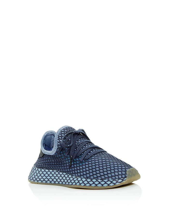 pretty nice 732a4 7b860 Adidas - Boys Deerupt Runner Lace-Up Sneaker - Big Kid