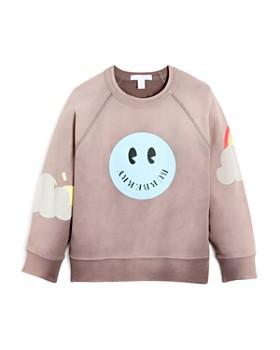 Burberry - Girls' Smiley Face Sweatshirt