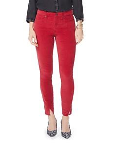 NYDJ - Ami Velvet Twist Hem Jeans in Gooseberry