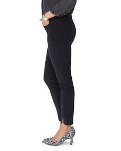 NYDJ - Ami Velvet Twist Hem Jeans in Black