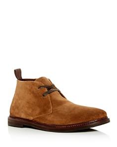 John Varvatos Star USA - Men's Zander Suede Chukka Boots