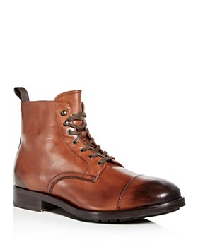 To Boot New York - Men's Concord Leather Cap Toe Boots