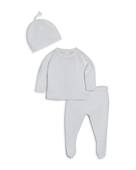 Angel Dear - Unisex Knit Hat, Cardigan & Footie Pants Take-Me-Home Set - Baby