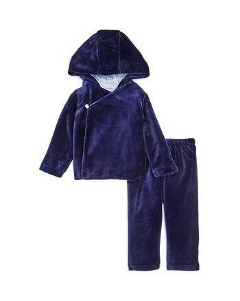 a88a511ccd40 Ralph Lauren Boys  Velour Kimono Hoodie   Pants Set - Baby ...