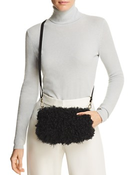 Maximilian Furs - Kalgan Lamb Fur Crossbody - 100% Exclusive