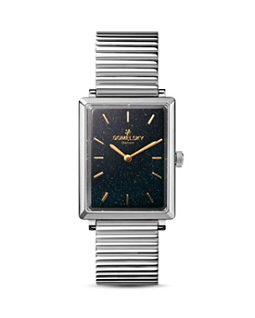 Gomelsky - The Shirley Black Dial Watch, 25mm x 32mm