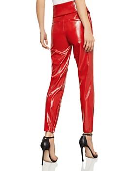 BCBGMAXAZRIA - Faux Patent Leather Pants