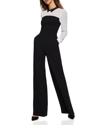 color-block-wide-leg-jumpsuit by bcbgeneration
