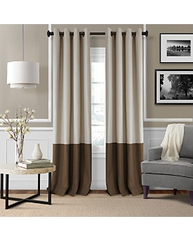 Elrene Home Fashions - Braiden Color Block Blackout Curtain Collection