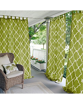 Elrene Home Fashions - Corado Geometric Indoor/Outdoor Curtain Collection