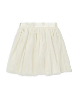Ralph Lauren - Girls' Tulle Skirt with Satin Belt - Big Kid