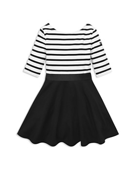 Ralph Lauren - Girls' Striped Bow Dress & Bloomers Set - Little Kid