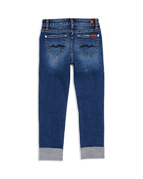 7 For All Mankind - Girls' Distressed Josefina Jeans - Big Kid