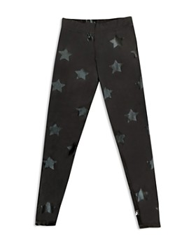 Terez - Girls' Hologram Star Leggings - Big Kid