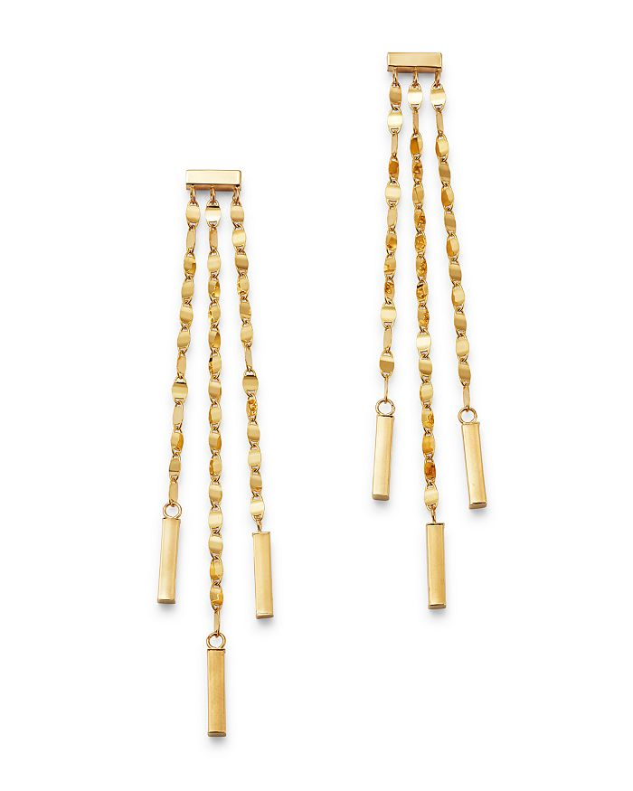 Moon & Meadow - 14K Yellow Gold Link Drop Earrings - 100% Exclusive