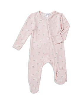 Angel Dear - Girls' Sheep-Print Footie - Baby