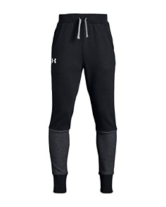 Under Armour - Boys' Tapered Double-Knit Fleece Pants - Big Kid
