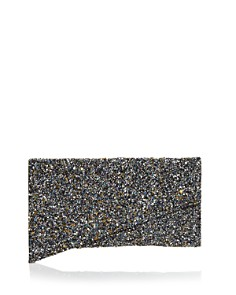 AQUA - Monika Beaded Asymmetrical Clutch - 100% Exclusive